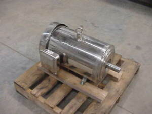 New Dayton 20 Hp Wash Down Motor 1770 Rpm 256tc C face
