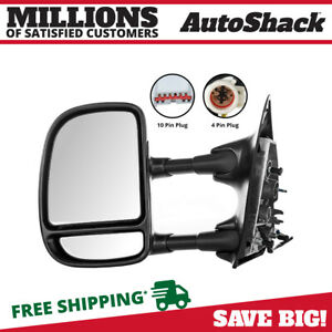 Power Telescoping Left Side Mirror Fits 99 2001 2002 2003 Ford F 250 Super Duty