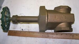 New Grinnell 2 1 2 Bronze Gate Valve 150 Swp 300 Wog Fig 3080