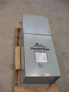 New Acme 25 Kva Paneltran 1 P Transformer 480 240 120 Cat Pt06150025ls 3r