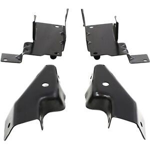 Bumper Bracket For 2003 2006 Chevrolet Silverado 1500 Set Of 4 Front Lh