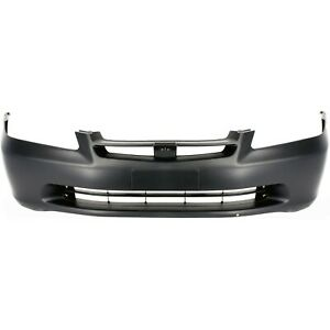 Front Bumper Cover For 1998 2000 Honda Accord Sedan Primed 04711s84a90zz