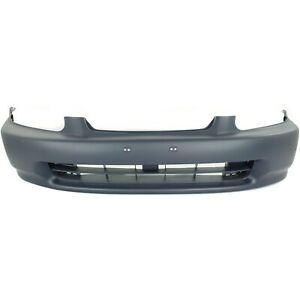 Front Bumper Cover For 1996 1998 Honda Civic Primed Ho1000172 04711s01a00zz