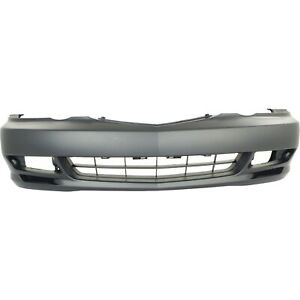 Front Bumper Cover For 2002 2003 Acura Tl W Fog Lamp Holes Primed