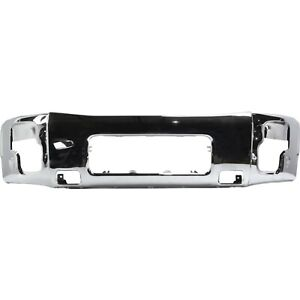 New Chrome Front Bumper Face Bar Replacement For 2004 2014 Nissan Titan Armada
