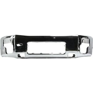 Front Bumper For 2004 2014 Nissan Titan 2005 2007 Armada Chrome Steel