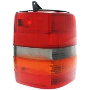 Tail Light For 93 98 Jeep Grand Cherokee 93 Grand Wagoneer Driver Side