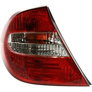 Tail Light For 2002 2004 Toyota Camry Driver Side