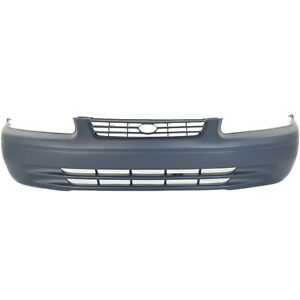 Front Bumper Cover Replacement For 1997 1999 Toyota Camry Primed 52119aa901