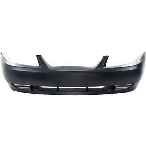 Front Bumper Cover For 1999 2004 Ford Mustang Primed Yr3z17d957ea