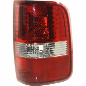 Tail Light For 2004 2008 Ford F 150 Fx4 Rh Clear Red Lens