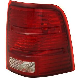 Tail Light For 2002 2005 Ford Explorer Passenger Side