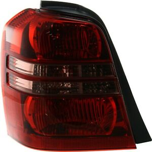 Tail Light Lens And Housing Driver Side For 2001 2003 Toyota Highlander