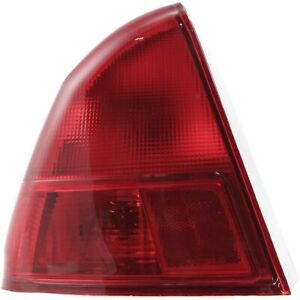 Tail Light For 2001 2002 Honda Civic Lh Outer Sedan