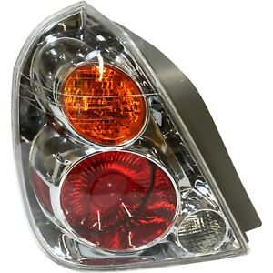 Tail Light For 2002 2004 Nissan Altima Driver Side