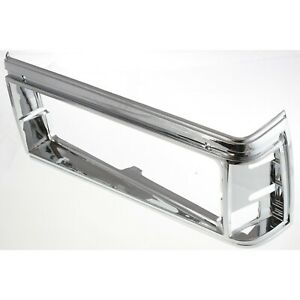Headlight Door For 1981 1985 Chevrolet Caprice Left Chrome