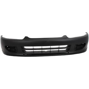 Front Bumper Cover For 97 2002 Mitsubishi Mirage Primed