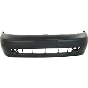 Front Bumper Cover For 2000 2004 Ford Focus W Fog Lamp Holes Primed