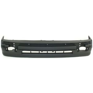 Bumper Cover For 1998 2000 Toyota Tacoma 2wd With Cover Trim Textured Front