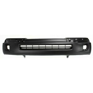 Front Bumper Cover For 98 2000 Toyota Tacoma W Fog Lamp Holes Primed