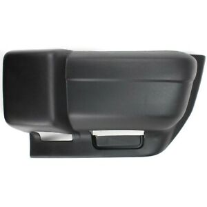 Bumper End Cap For 1997 2001 Jeep Cherokee Front Left Textured With Sport Model