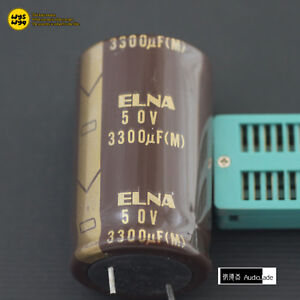 audio Jade 3300uf 50v Elna Silmicii Silmic2 Rfs Hi fi Audio Capacitors Japan