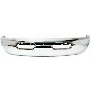 Front Bumper For 99 2003 Dodge Ram 1500 Van Ram 3500 Van Chrome Steel