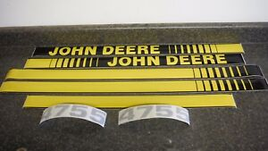 John Deere 4755 Tractor Decals Hood Numbers Only See Details Pictures