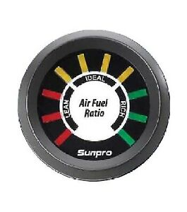 Sunpro Electrical Led Air Fuel Ratio Gauge New Cp8210 Authorized Distributor