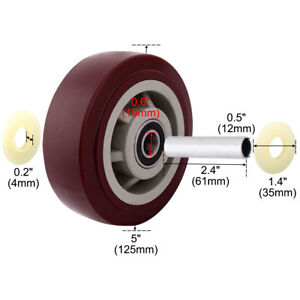 Home Factory Shopping Cart Pallet Hand Trolley Replacement Casters Wheel