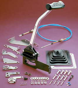 B M Unimatic 3 Speed Or 4 Speed Automatic Transmission Cable Shifter Complete