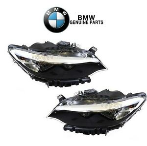 New For Bmw F22 F23 2 series Left Right Headlight Assemblies Halogen Genuine
