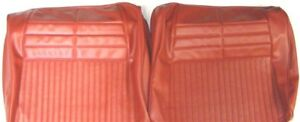 1964 Chevrolet Impala Front Split Bench Rear Seat Covers Pui