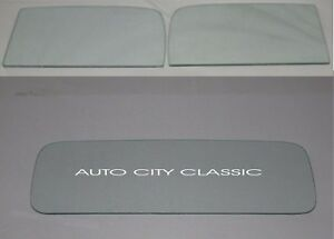 1937 1938 Chevy Gmc Pickup Truck Door Glass And Rear Back Glass Set Clear