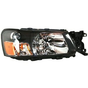 Headlight For 2003 2004 Subaru Forester X Xs 2004 Forester Xt Right With Bulb