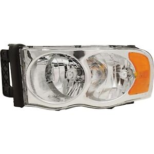 Headlight For 2002 2005 Dodge Ram 1500 Driver Side
