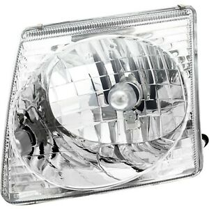 Halogen Headlight For 2001 2005 Ford Explorer Sport Trac Left W Bulb