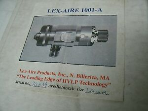 Lex aire 1001 a Hvlp Spray Gun New