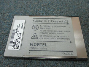 Nortel Norstar Compact Ics Cics Nt7b66cg Sip 6 1 Fc Cabinet Software Flash Card