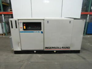 Ingersoll Rand Ssr ep100 100hp Rotary Screw Air Compressor 446cfm 125psi 460v