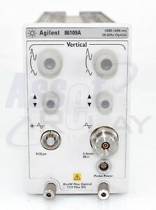 Agilent Hp 86109a Plug In Module 1000 1600nm 30ghz Optical Module Dca