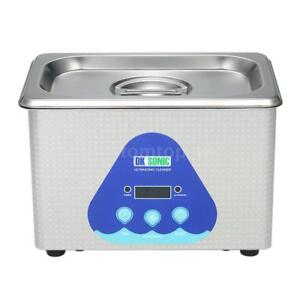0 8l Stainless Steel Digital Ultrasonic Cleaner Machine Jewelry Watches Cleaning