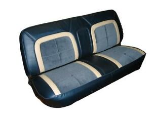 Ford F150 Pickup Truck Deluxe Lariat Front Bench Seat Upholstery 1973 1979