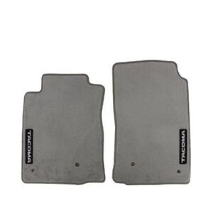 For Toyota Tacoma 05 11 Front Carpet Floor Mats Light Charcoal Gray Genuine Oem