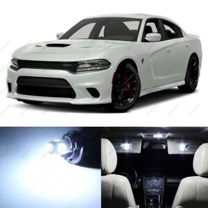 17 X White Led Interior Light Package For 2015 2018 Dodge Charger Pry Tool