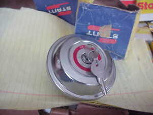 1971 76 Amc Hornet Gremlin Chrome Locking Gas Cap