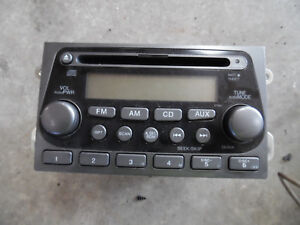 2003 Honda Element Oem Radio Am Fm Cd Ex 39101 Scv A010 M1