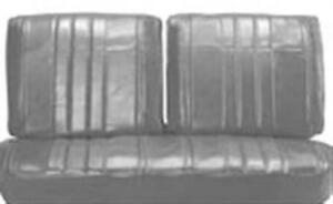 1965 Chevrolet Impala Front Split Bench Rear Seat Covers Pui