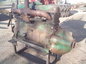 Oliver 88 super88 880 Farm Tractor Gas Motor Engine Runs Strong