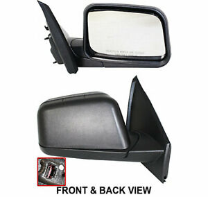 Mirror For 2008 Ford Edge Se Sel Limited Models Right Side Textured Black